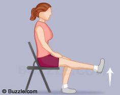 Straight Leg Raise on the Chair