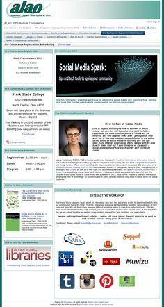 State College, Conference, Presentation, Workshop, Community, Social Media, Tools, Website