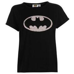 Ladies Character T Shirts Online: DC Comics Batman T Shirt – Novelty-Characters