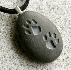 Puppy Pawprints Pendant  Double Sided Engraved by sjengraving, $28.00 on reverse side: Lucy