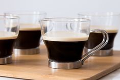 Rich and delicious, Cuban coffee (also known as a cafecito or cafe Cubano) is a wonderful after-dinner espresso drink. Espresso Drinks, Espresso Bar, Coffee Drinks, Coffee Coffee, Coffee Time, Tea Time, Ginger Coffee, Cuban Coffee, Cafe Cubano