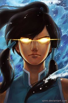 Avatar Korra by *Qinni on deviantART