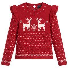 aec402a5bde Polo Ralph Lauren - Girls Festive Sweater