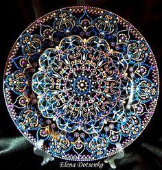 Fabulous Mandala plate