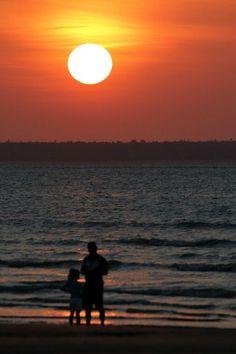 Sunset at Mindi Beach, Australia