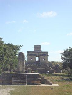 Temple of the Seven Dolls, Dzibilchaltun, Mexico