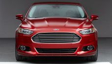 2013 Ford Fusion Red Color HD Wallpaper