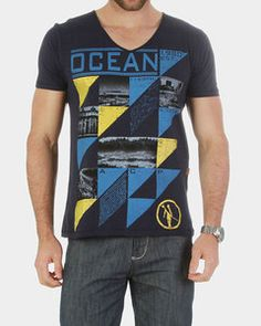 Camiseta ACP Estampada Azul Marinho - http://www.compramais.com.br/masculino/camisetas/camiseta-acp-estampada-azul-marinho-22ace1az30/