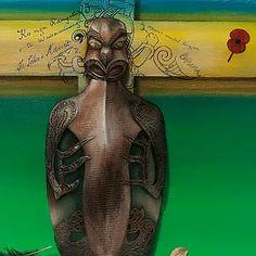 High quality Gic'lee prints of original Maori Art by Theresa Reihana. Veiw the gallery for unique Maori art. Vivid Colors, Colours, Maori Art, Mother Earth, New Art, Fiber Art, Statue, Prints, Design