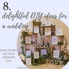 8 delightful DIY ideas for a wedding
