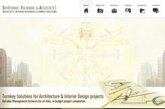 - Take a look at our client's Shirodkar-Falnikar & Associates site. We at Completenet will help you get the desired level of online visibility by using the most effective and advanced placement strategies. Professional Web Design, Website Development Company, Web Design Services, Interior Architecture, Budgeting, Projects, Architecture Interior Design, Log Projects, Interior Design