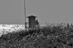 Playa del Puntalillo Rota Vigilante Protección Civil