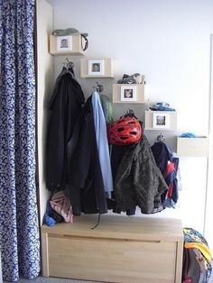 Landing strip: Doormat, hook, surface for sorting things you bring in. Sort things immediately: garbage, recycle, scan, action items.