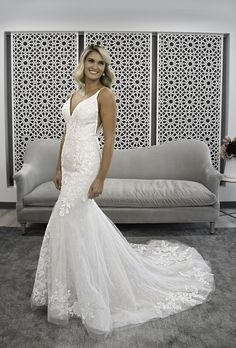 Style #7266 Sample available at Ellynne Bridal (Lincoln, Nebraska) for National Bridal Sale: July 17th - July 24th 2021. Visit our website or call to book an appointment: (402)-489-7770 Wedding Dress Pictures, Wedding Dress Styles, Bridal Gowns, Wedding Gowns, Stella York Bridal, Bridal Elegance, Bridal Gallery, Essense Of Australia, Pageant Gowns