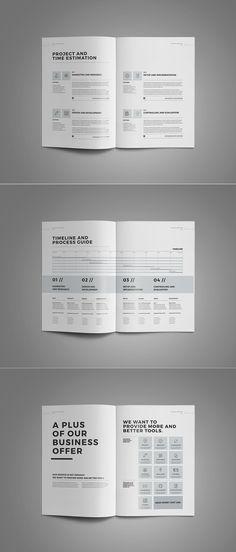 Proposal And Portfolio Templateminimal And Professional Proposal