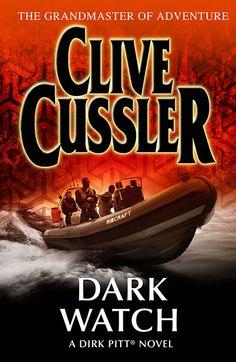 Dark Watch - a Clive Cussler novel in the Oregon Files series. Unused UK cover artwork 2009 ©Larry Rostant