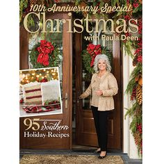 This unique collector's edition celebrates the best of Paula Deen's Christmas special issues from the past 10 years. Paula shares her favorite menus for family holiday gatherings, gifts from the kitchen, festive appetizers, and beautiful home décor ideas. Southern Christmas, Family Holiday, Holiday Ideas, Christmas Ideas, Christmas 2016, Merry Christmas, Old Recipes, Paula Deen, Family Traditions
