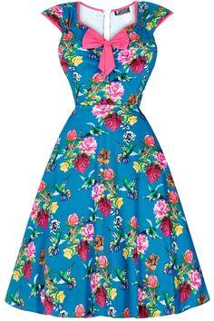 Lady V London Isabella Birds of Paradise Šaty ve stylu 50. let. Nádherné  šaty 1dce0e5ed8