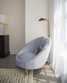 Jonathan Adler Ether Chair at 70 Charlton. Herman Miller Aeron Chair, Anthropologie Home, Take A Seat, Cool Chairs, Living Room Chairs, Chair Design, Design Model, Girls Bedroom, Ethereal