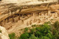 mesas in new mexuco | Cliff Dwellings, Mesa Verda, New Mexico.