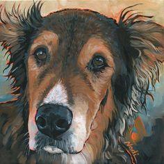 "Daily Paintworks - ""Ranger"" - Original Fine Art for Sale - © Nadi Spencer"