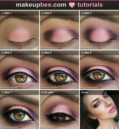 Step by Step eye makeup