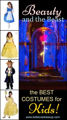 Beauty And The Beast Costumes For Kids: The Best And Most Beautiful! Princess Dress Up Clothes, Disney Princess Dress Up, Disney Princess Costumes, Princess Gowns, Disney Costumes, Little Girl Dress Up, Girls Dress Up, Fancy Dress Outfits, Dress Up Costumes