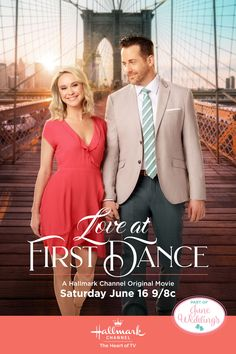 "June Weddings continues with Countdown to Christmas favorites Niall Matter and Becca Tobin fall in step and in ""Love at First Dance"" on June 16 9/8c, part of our June Weddings celebration on Hallmark Channel. #JuneWeddings #HallmarkChannel #LoveAtFirstDance"