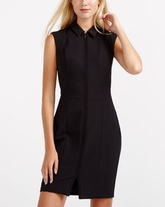 Willow & Thread Bodycon Dress Canadian Clothing, Power Dressing, Professional Look, Work Fashion, Stretch Fabric, Your Style, Autumn Fashion, High Neck Dress, Bodycon Dress