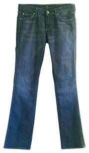 7 For All Mankind Carol Boot Cut Jeans-Medium Wash