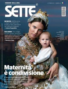 Sette Magazine October 2015 Cover by Maki Galimberti (Various Covers)