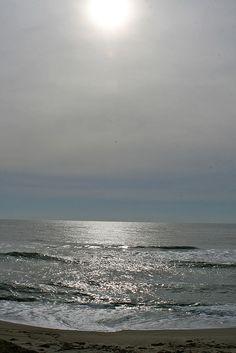 Sun on south shore Nantucket
