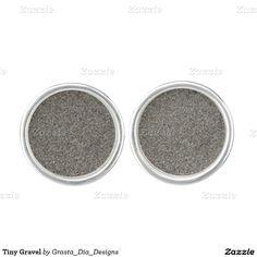 Tiny Gravel Cufflinks