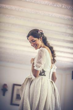Vestido de novia - Mangas espectaculares - 1. Isabel Nuñez
