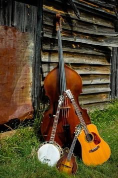 Mountain music and Bluegrass. Love them both!