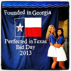 <> You can take the sorority girl out of Texas, but you can't take the Texas out of her <>