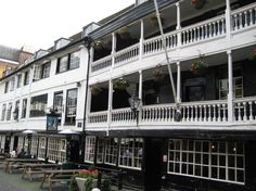 The George Inn, Southwark, London. Last of the London galleried coaching inns. Pub Interior, Cultural Capital, Somewhere In Time, Pub Bar, Old London, Me Time, Time Travel, Regency, Great Places