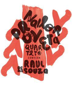 Nailor Proveta Quarteto poster on Behance