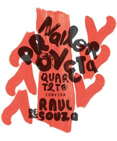 Nailor Proveta Quarteto poster on Behance