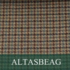 Carrol Altasbeag Tweed Hunter s Tweed is all made in scotland and all of our Tweed Patterns are based on Hunters of Brora 100 years of archives 100