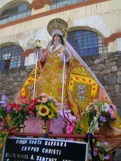 Acabo de compartir la foto de Sergio Reyna que representa a: Santa Bárbara