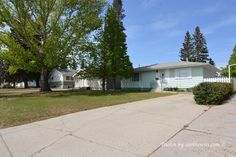 1005 Taylor Street, Saskatoon Haultain This 924 sq ft bungalow in Saskatoon's Haultain neighbourhood is right across the street from a Shopping Centre & High School & a short bus ride to the U of S Mechanical Room, Family Room, Home And Family, Asphalt Shingles, Concrete Driveways, Bungalows For Sale, Roof Types, Wood Siding, Laminate Countertops
