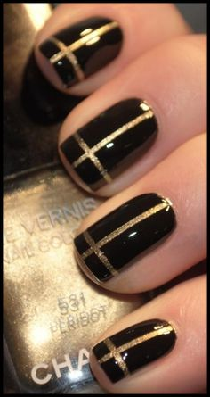 30 Easy Nail Art Designs For Beginners | MyMagicMix