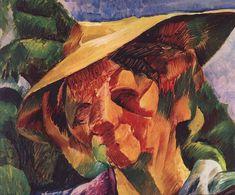 Ritratto della Signora Busoni - II (1916) Umberto Boccioni Umberto Boccioni, Italian Futurism, Italian Painters, Modern Times, Italian Art, Public Art, Art Museum, Portrait, Smoothie