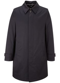 Short Black Raincoat - New In - Austin Reed