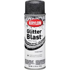 black glitter spray paint - Google Search