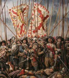 Last stand of Spanish Tercio at Battle of Rocroi