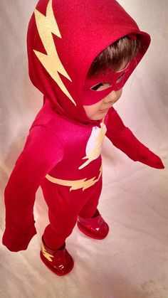 Check out this item in my Etsy shop https://www.etsy.com/listing/264327253/flash-costume-for-american-girl-doll