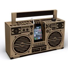 Ghetto blaster speakers with USB port Berlin Boombox Teen Children- A large selection of Design on Smallable, the Family Concept Store - More than 600 Gift For Music Lover, Music Gifts, Music Lovers, Berlin, Boombox, Hobby Town, Online Music Lessons, Cardboard Box Crafts, Audio