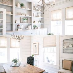 "Joanna Stevens Gaines on Instagram: ""Light and airy office space #shiplap #fixerupper @hgtv @magnoliahomestx"""